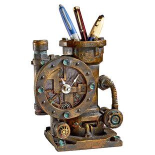 Design Toscano Steam Punk Pen Holder