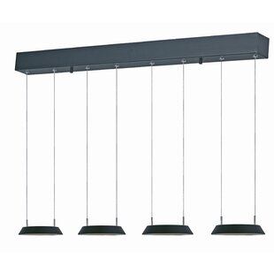 Orren Ellis Albali 4-Light Kitchen Island Pendant