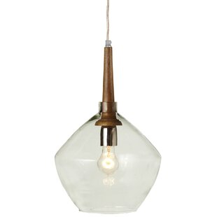 George Oliver Ebeling 1-Light Schoolhouse Pendant