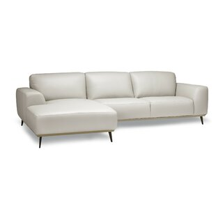 Order Rachel Leather Sofa By Orren Ellis