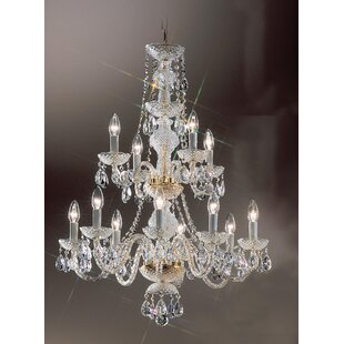 Classic Lighting Monticello 12-Light Cand..