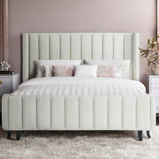 Orren Ellis Meisha Queen Upholstered Platform Bed