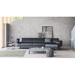 Moroni Oxford Leather Sectional