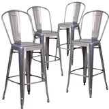 Timo Bar & Counter Stool (Set of 4) by 17 Stories