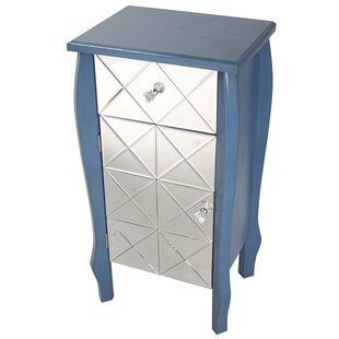 Janeen 1 Drawer 1 Door Accent Cabinet