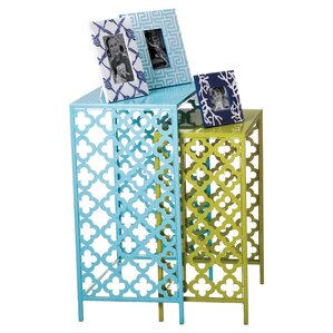Asmus 2 Piece Nesting Tables by Ebern Designs