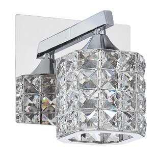 Hopkins 1-Light Bath Sconce by Rosdorf Park