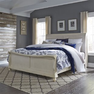 Wilmington California King Low Profile Sleigh Bed