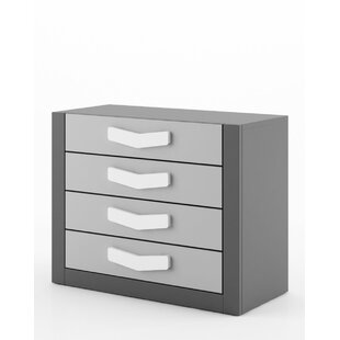 Haileybury 4 Drawer Chest of Drawers by Viv   Rae