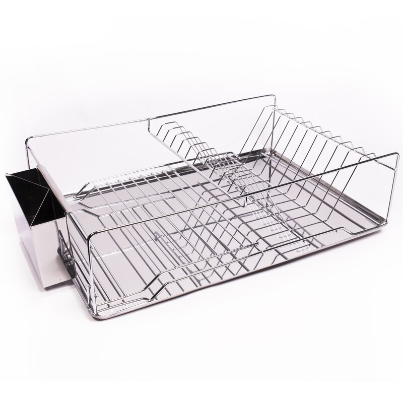 Home Basics 3 Piece Kitchen Sink Dish Drainer Set Gallery