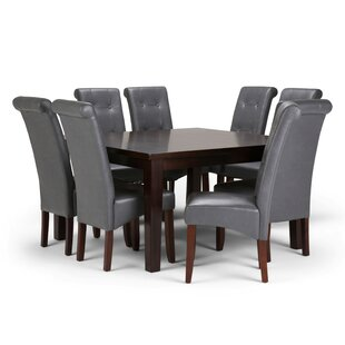 Amador 9 Piece Dining Set Alcott Hill
