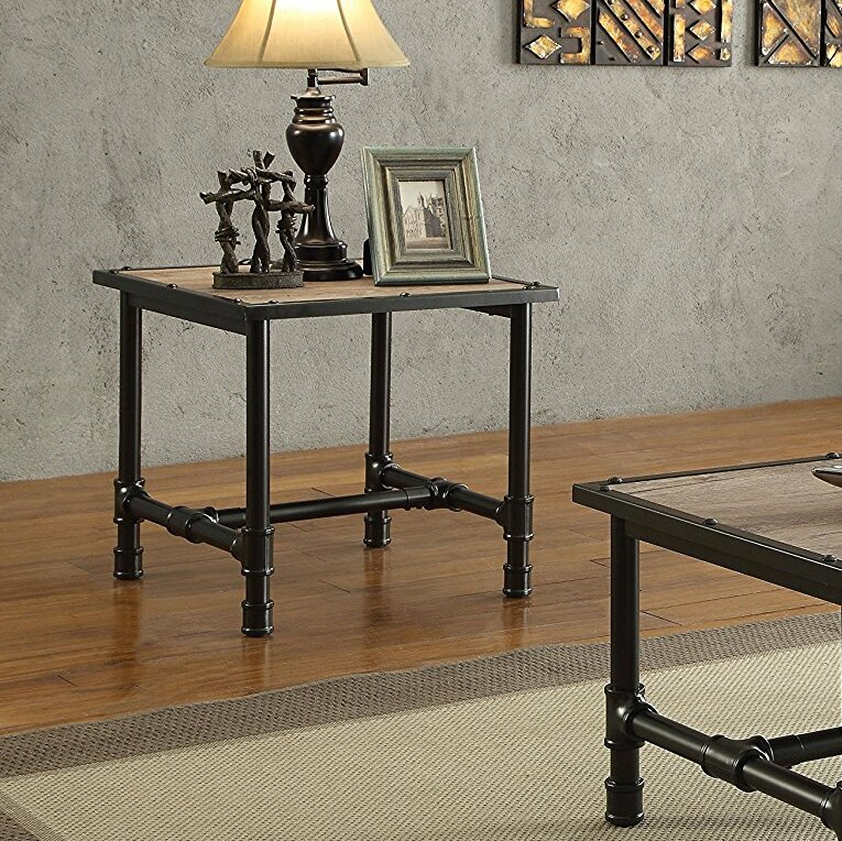 Delicieux Cronk Industrial End Table
