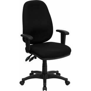 Top Reviews Kruger High-Back Ergonomic Executive Chair By Symple Stuff