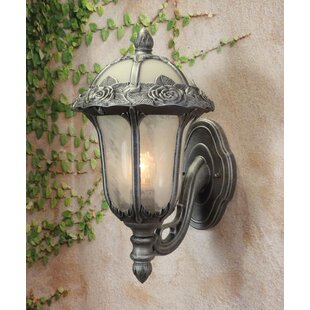 Bargain Rose Garden 1-Light Outdoor Sconce By Special Lite Products