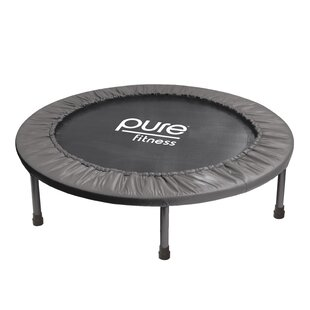Pure Fitness Exercise Trampoline 3.17' Round