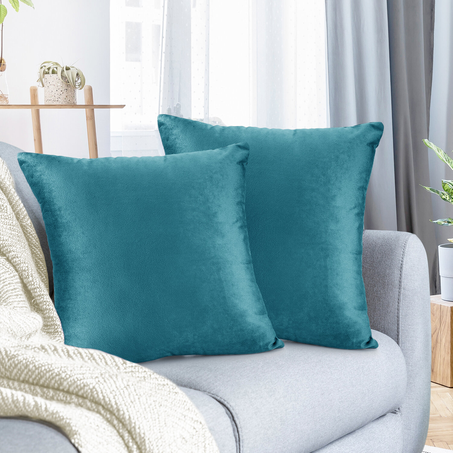 Picture of: Blue Throw Pillows You Ll Love In 2020 Wayfair