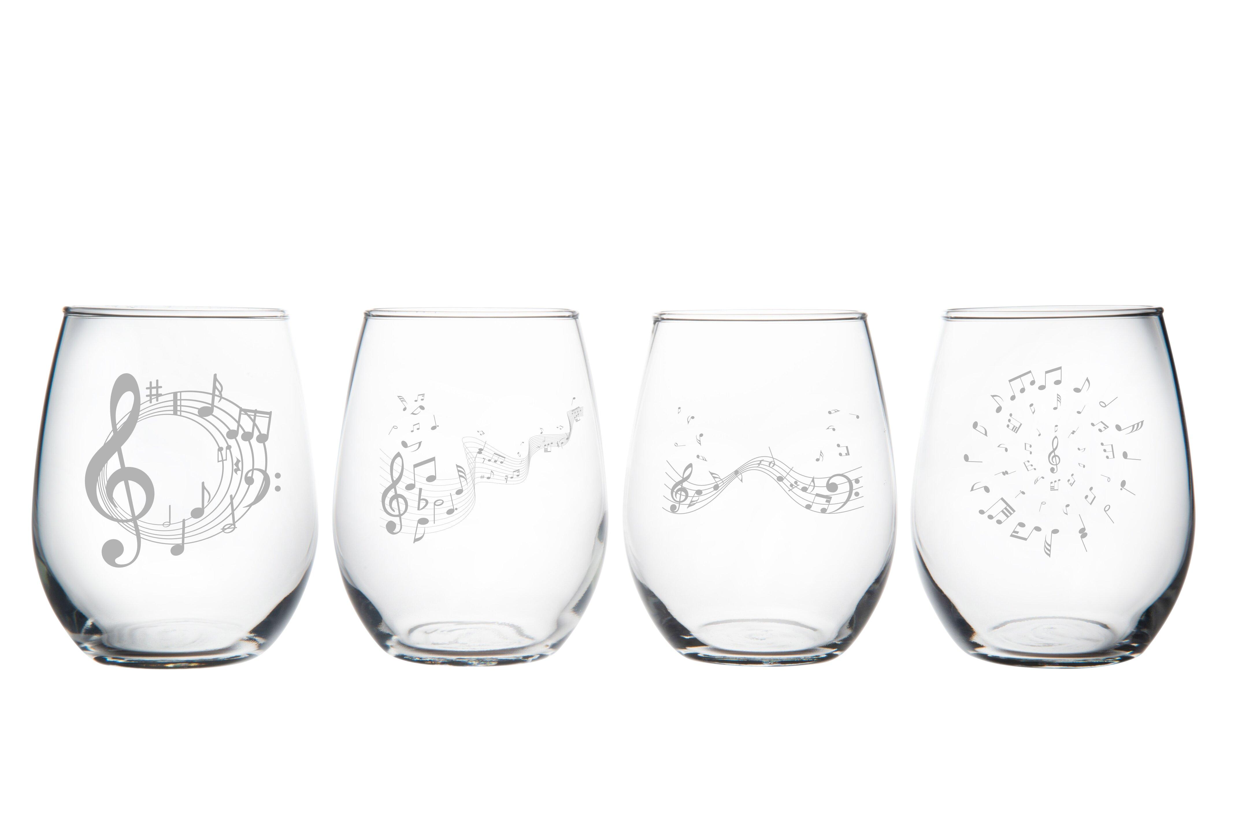 Red Barrel Studio Ahlefeld 4 Piece 15 Oz All Purpose Wine Glass Set Wayfair