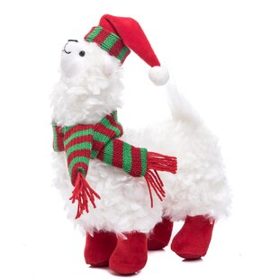 aaron plush llama - Llama Christmas Decoration