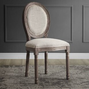 Vicente French Upholstered Dining Chair Ophelia & Co.