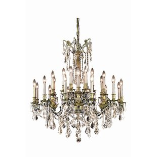Astoria Grand Utica 24-Light Candle Style Chandelier