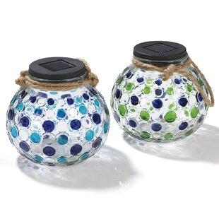 Rakesh 2-Light Outdoor Hanging Lantern (Set Of 2) By 17 Stories