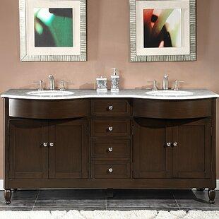 Davian 72 inch  Double Bathroom Vanity Set