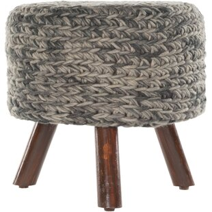 Three Posts Alverez Handmade Accent stool