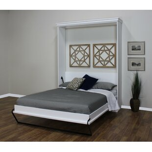 Coupon Lewe Queen Murphy Bed By Red Barrel Studio