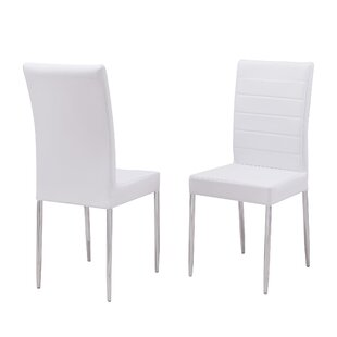 Raina Upholstered Dining Chair (Set of 2) by Orren Ellis