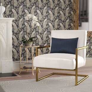 C?line Linen Armchair by Willa Arlo Interiors