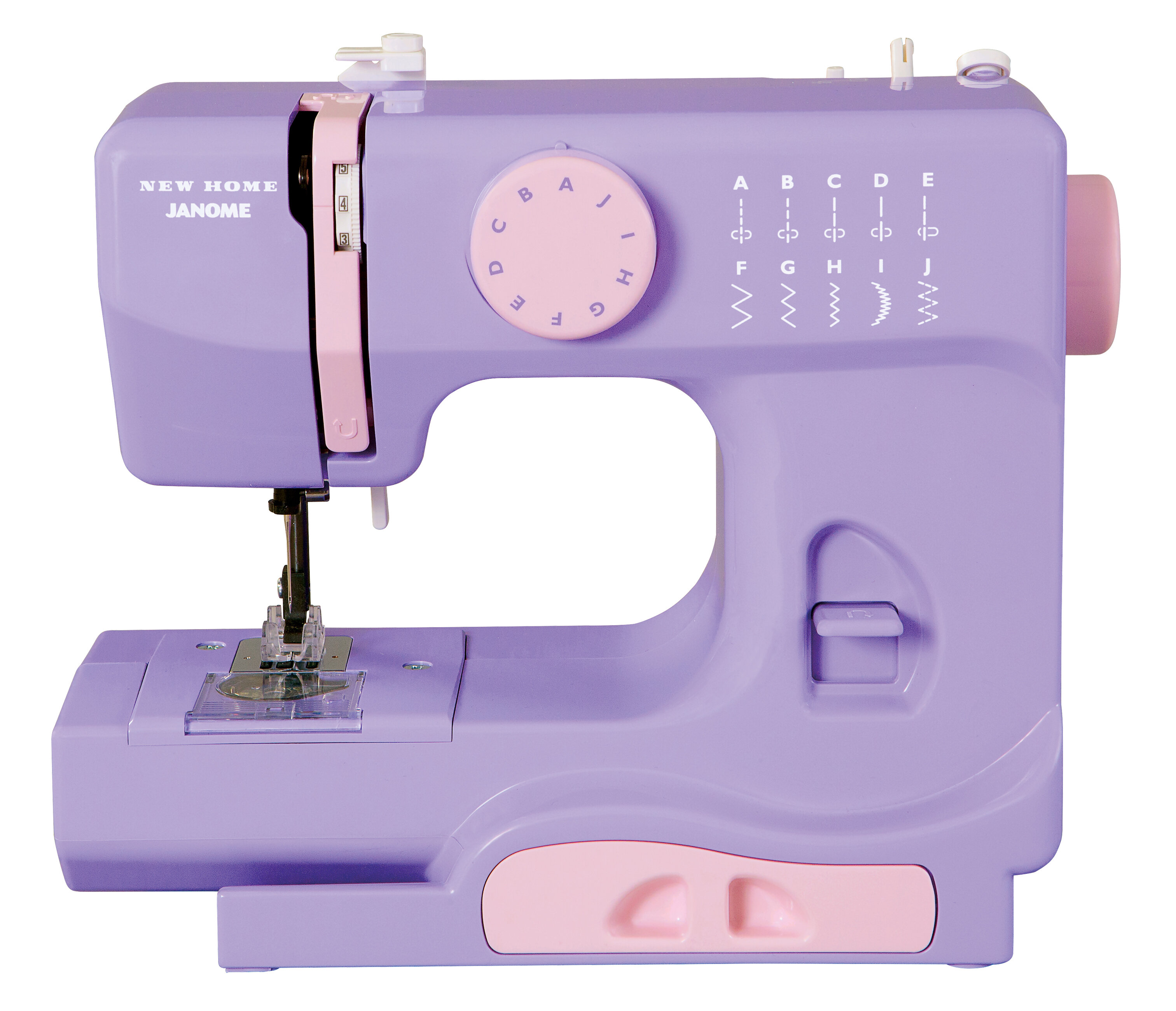 Janome Portable Easy-to-Use 5-Pound Mechanical Sewing Machine on