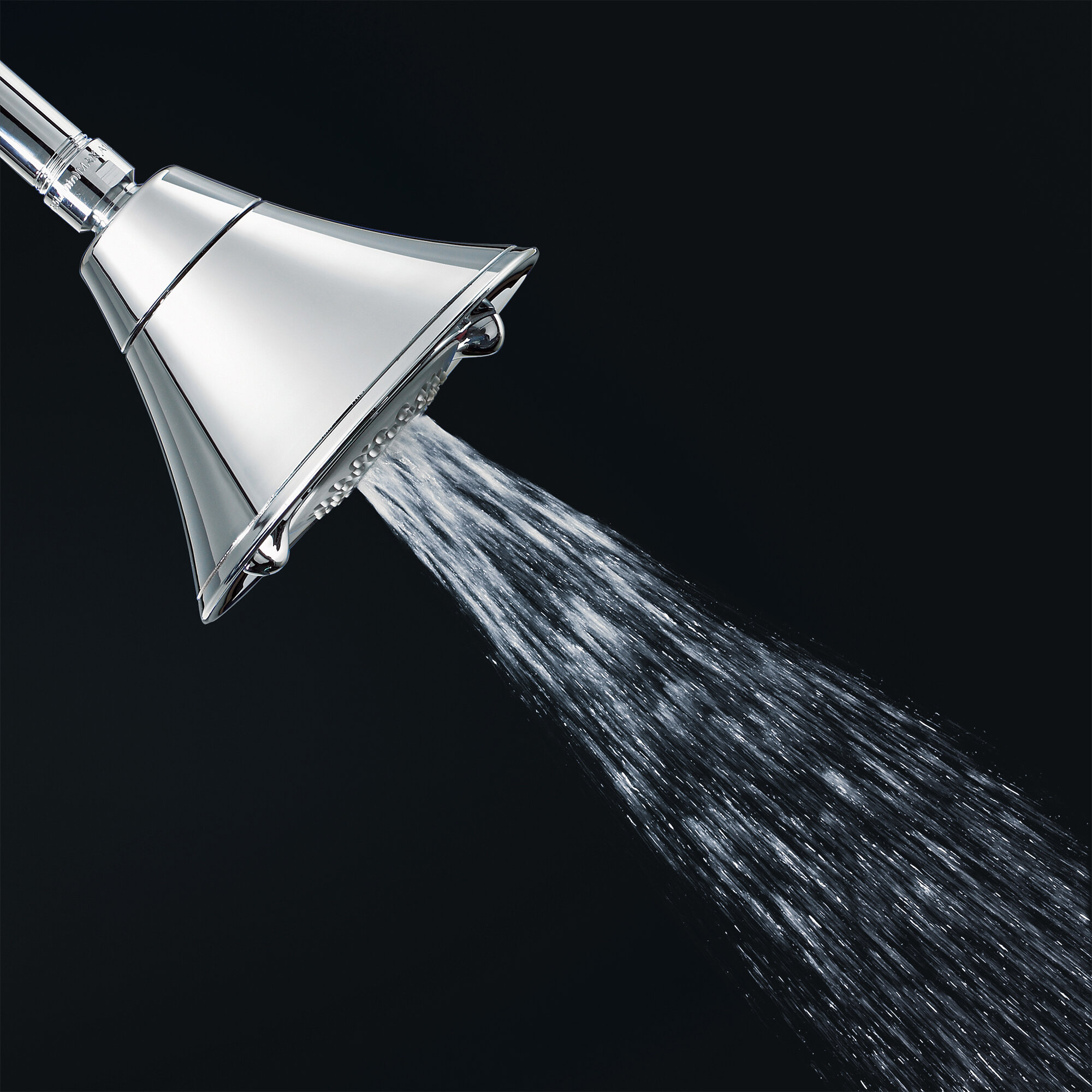 3 Function Water Saving Volume Full Adjustable Shower Head With Flowise
