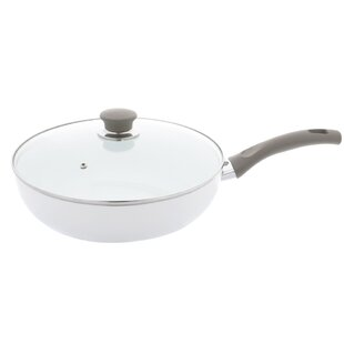 Tropea Veggie 4 qt. Nonstick Saute Pan with Lid