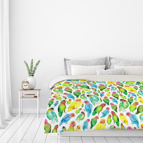 Love Birds Bedding Wayfair