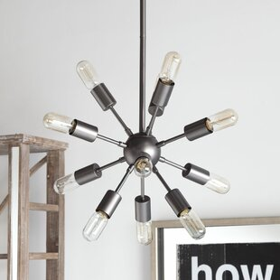 Williston Forge Guth 12-Light Sputnik Chandelier