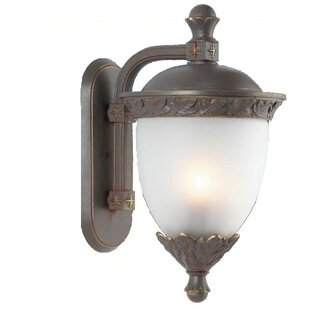 Affordable Price Phillipstown 3-Light Outdoor Wall Lantern By Alcott Hill