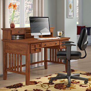 Neela Writing Desk With Hutch by Andover Mills Best #1