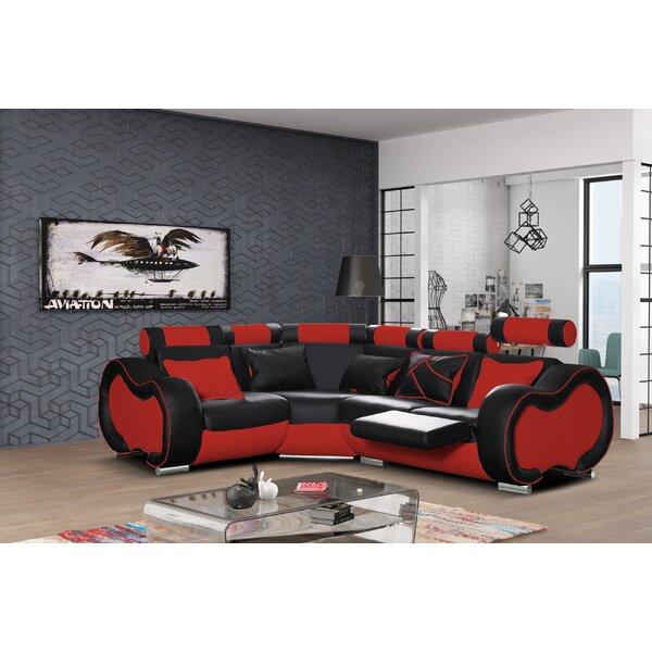 Fabric Corner Recliner Sofa | Wayfair.co.uk