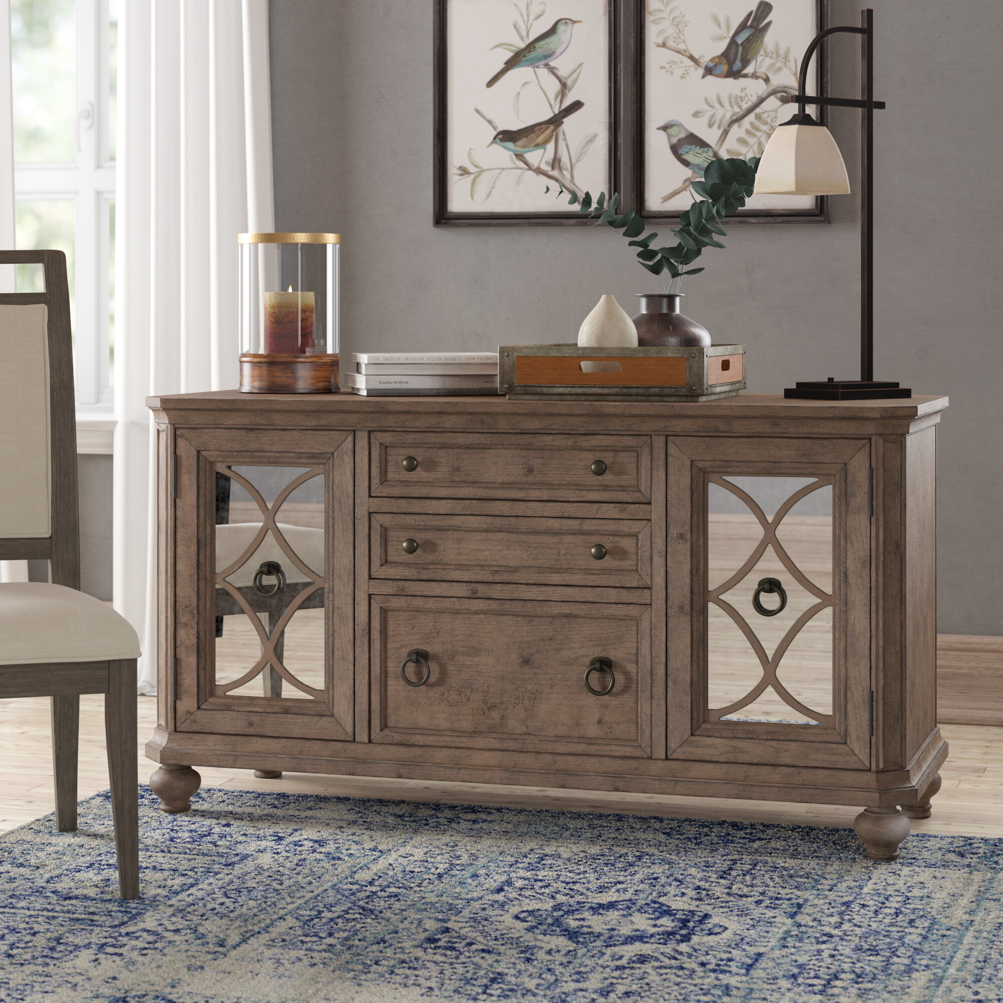 Etonnant Birch Lane™ Heritage Sibylla Credenza Desk U0026 Reviews | Wayfair