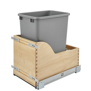 Rev-A-Shelf 8.75 Gallon Pull Out/Under Counter Trash Can