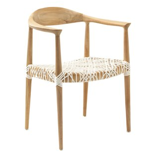 Albertina Solid Wood Dining Chair by Mistana