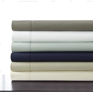 500 Thread Count 100% Cotton Percale Extra Deep Pocket Sheet Set