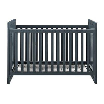 Greyleigh Benbrook 2-in-1 Convertible Crib Color: Graphite Blue