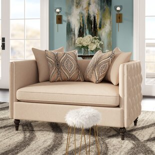 Shop Dolson Chesterfield Loveseat by Willa Arlo Interiors