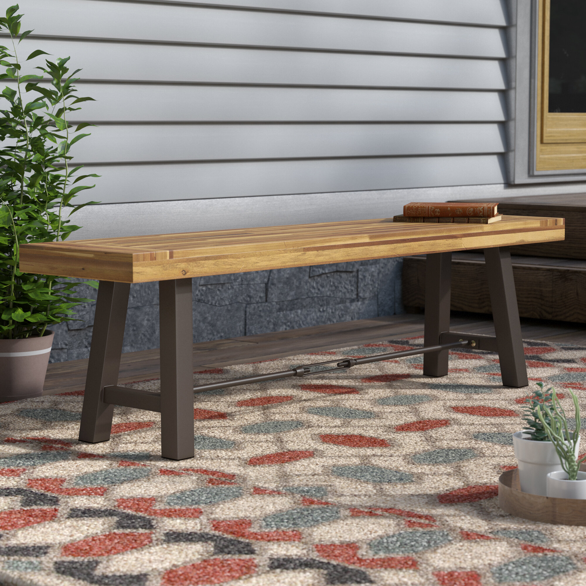 Awe Inspiring Testwuide Outdoor Teak Picnic Bench Evergreenethics Interior Chair Design Evergreenethicsorg