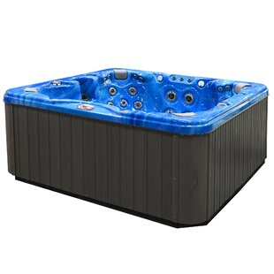 7-Person 56-Jet Hot Tub With Bluetooth Stereo System By American Spas