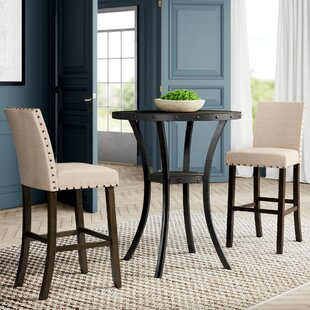 Haysi 3 Piece Pub Table Set by Greyleigh