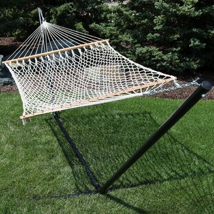 D'Alotto Polyester Hammock with Stand by Highland Dunes