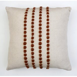 Fredrick Cotton Throw Pillow Cover & Insert