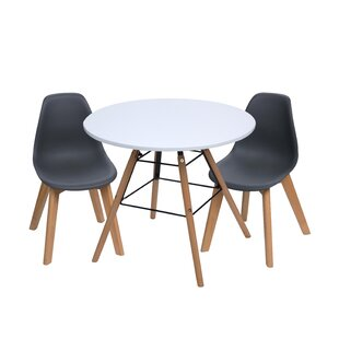 Letendre Kids 3 Piece Round Table and Chair Set by Isabelle & Max